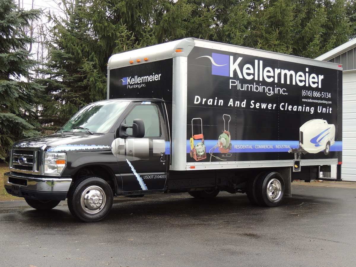 Grand rapids plumbers learn more about kellermeier plumbing grand rapids plumbers kellermeier work truck solutioingenieria Image collections