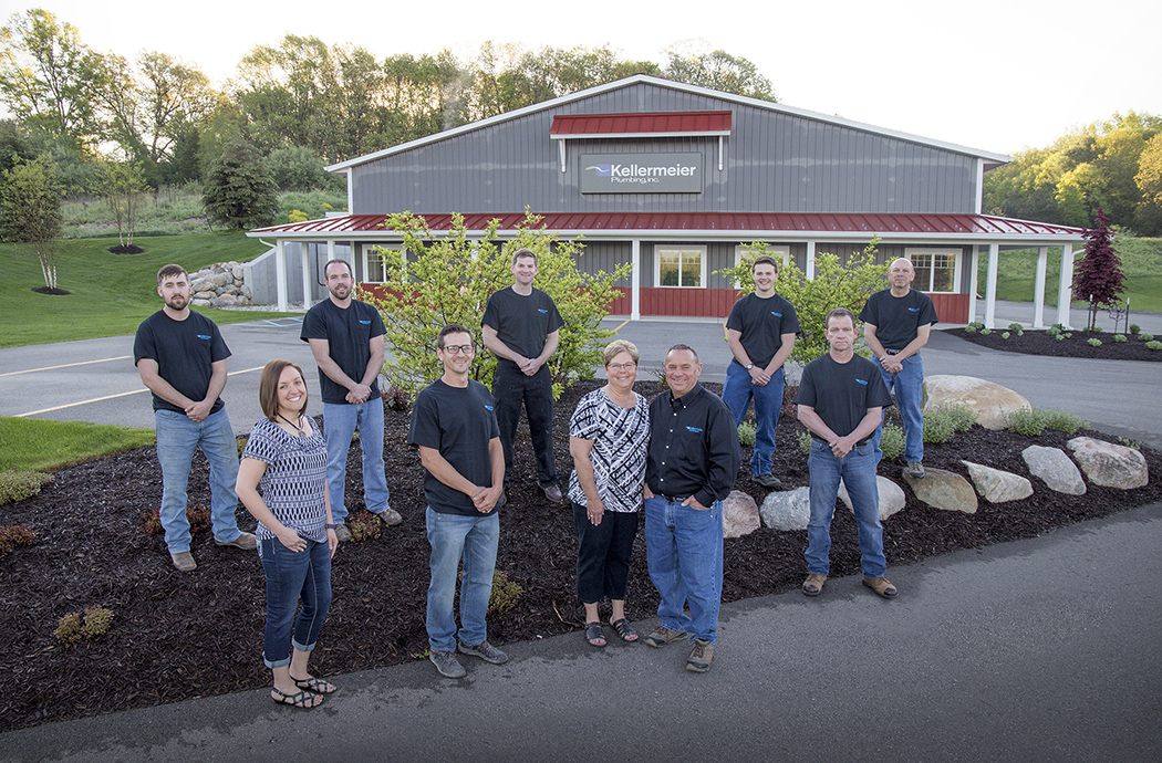 Join the Kellermeier team, seen here, of West Michigan Plumbers and plumbing service professionals!