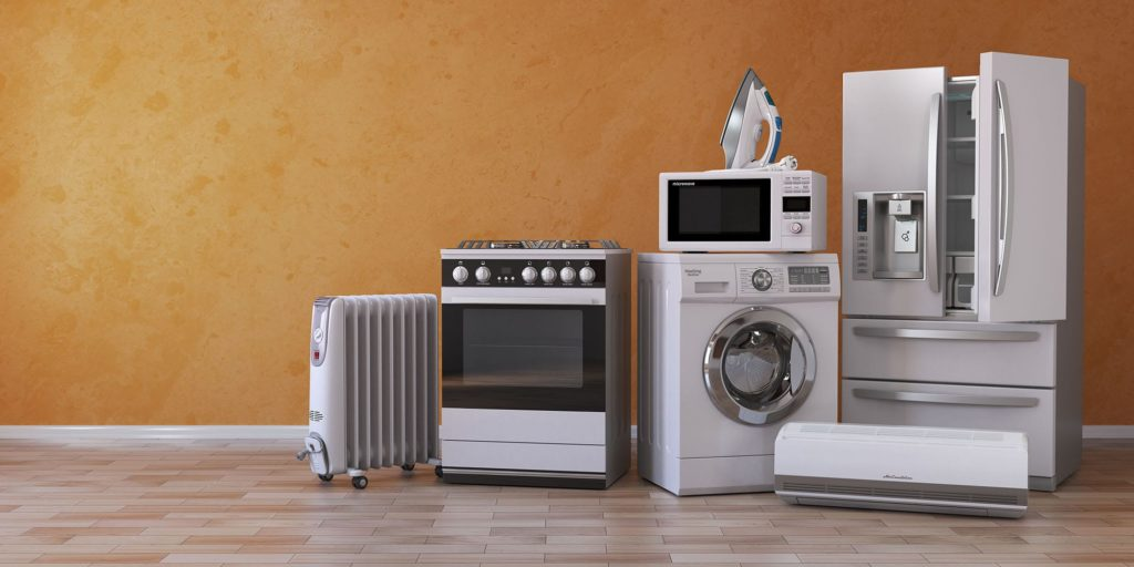A host of kitchen appliances you might need after kitchen appliance repair.