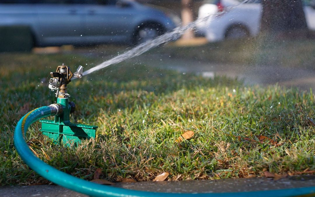 Are Your Sprinklers Using Too Much Water?