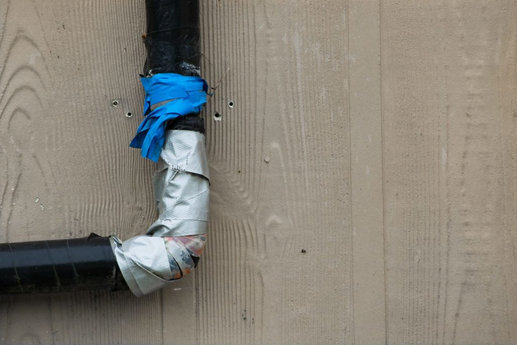 Bad Plumbing Jobs, like duct taping pipes, are recipes for disaster.