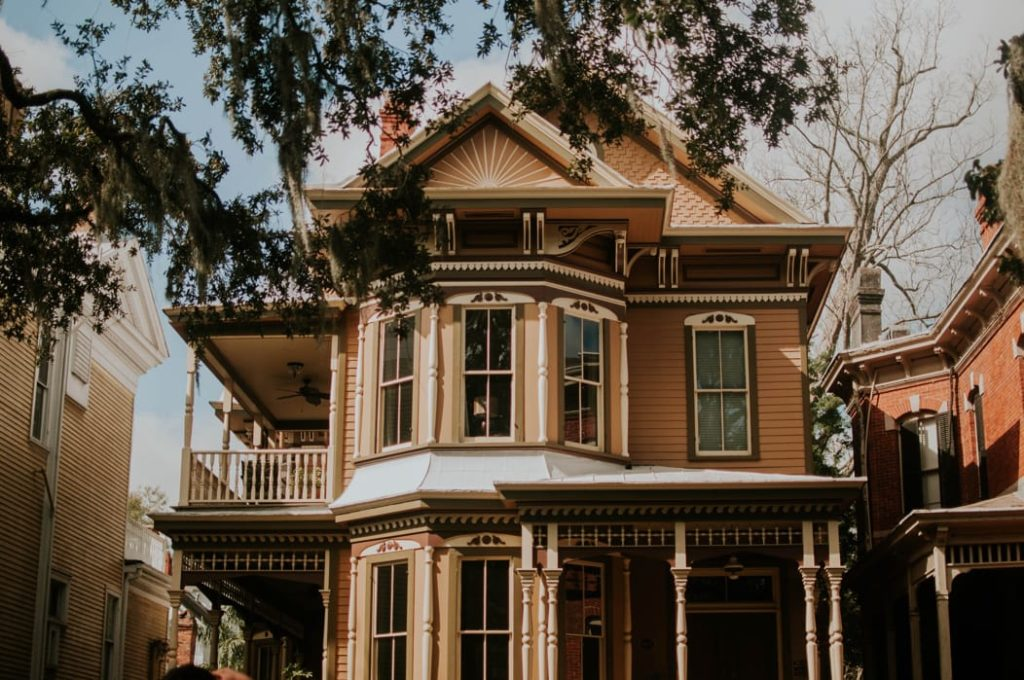 Older homes (like the Victorian style shown) will have old house plumbing